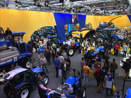 FIMA 2018 Stand New Holland