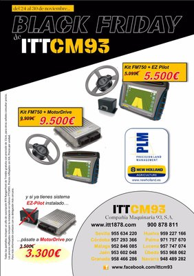 Black Friday en ITT CM93