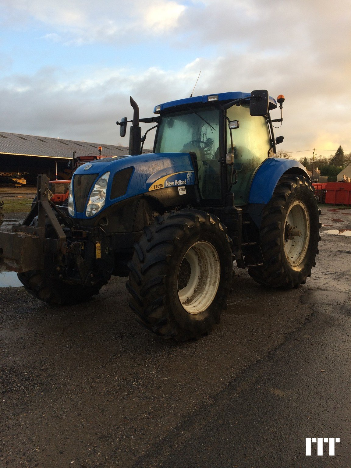 Tractor agricola New Holland T7050 - 1