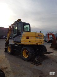 Excavadora de ruedas New Holland MH3.6 - 1
